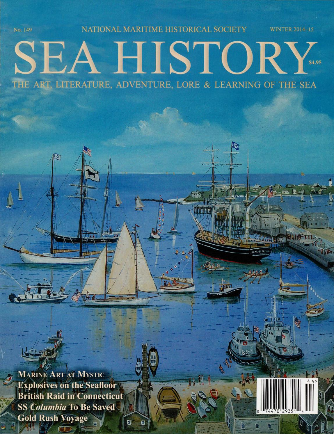 0c4a02115dc Sea History 149 - Winter 2014-2015 by National Maritime Historical ...