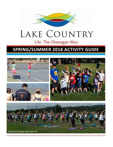 Spring/Summer 2018 Activity Guide by Lake Country - issuu