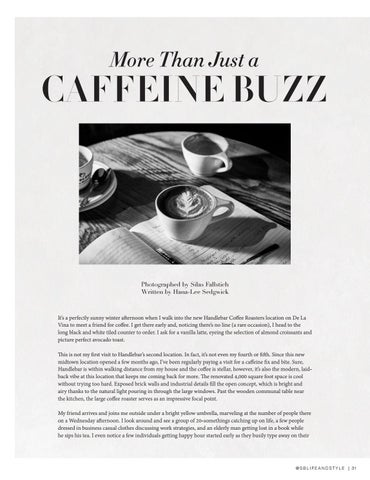 Page 31 of More Than Just a Caffeine Buzz