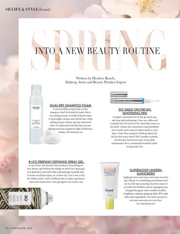 Page 46 of Spring Into a New Beauty Routine