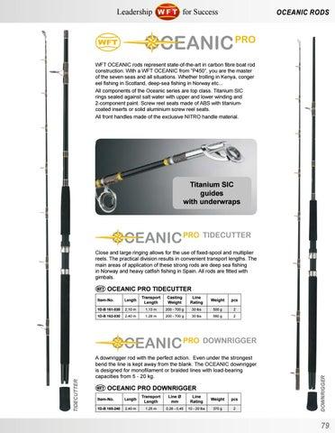 Oceanic Downrigger