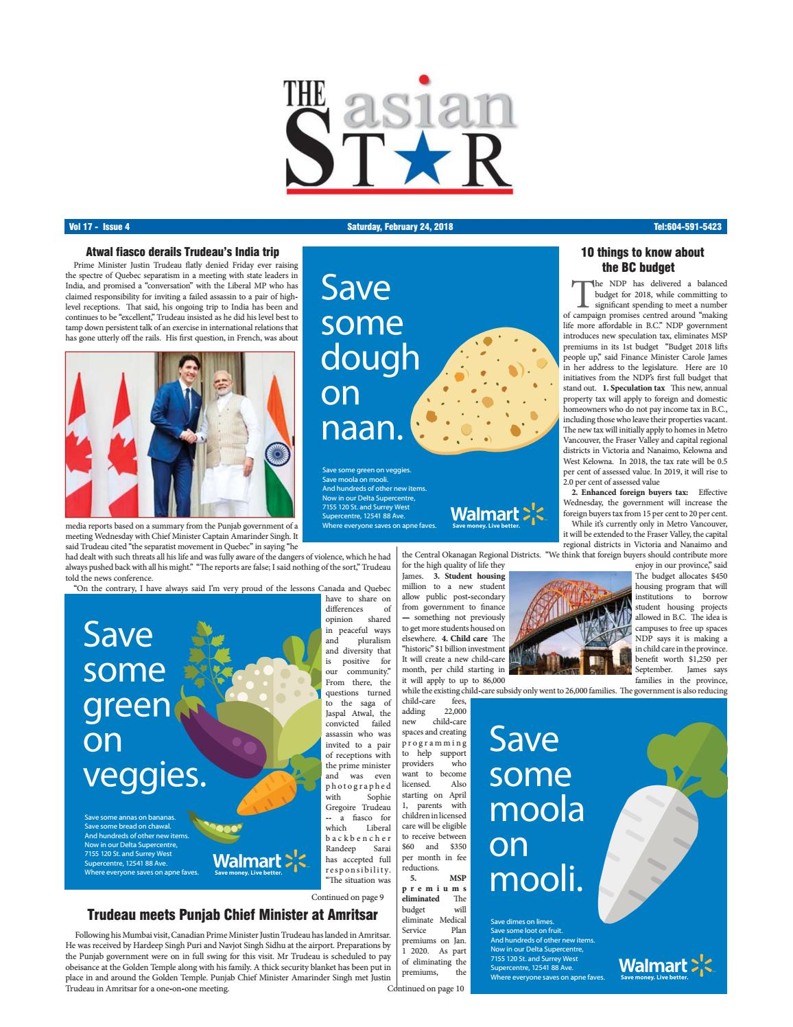 The Asian Star February 24 2018 by The Asian Star Newspaper