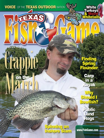 a37f3a8dad08f0 Texas Fish & Game March 2018 by Texas Fish & Game - issuu