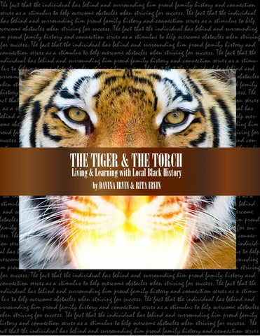 7518f5fd7ad36f THE TIGER   THE TORCH  Living   Learning withi Local Black History ...