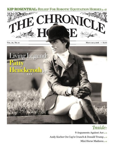 The chronicle of the horse may 2016 by HRCS - issuu