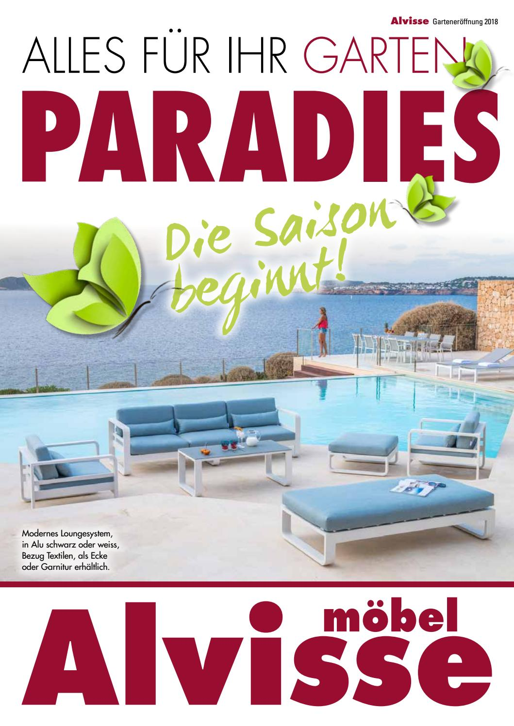 Alvisse Garten Paradies 2018 by Möbel Alvisse - issuu