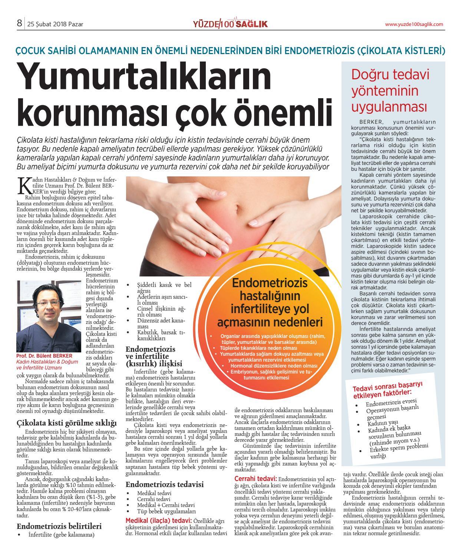 Endometriozisin nedenleri, belirtileri ve tedavisi