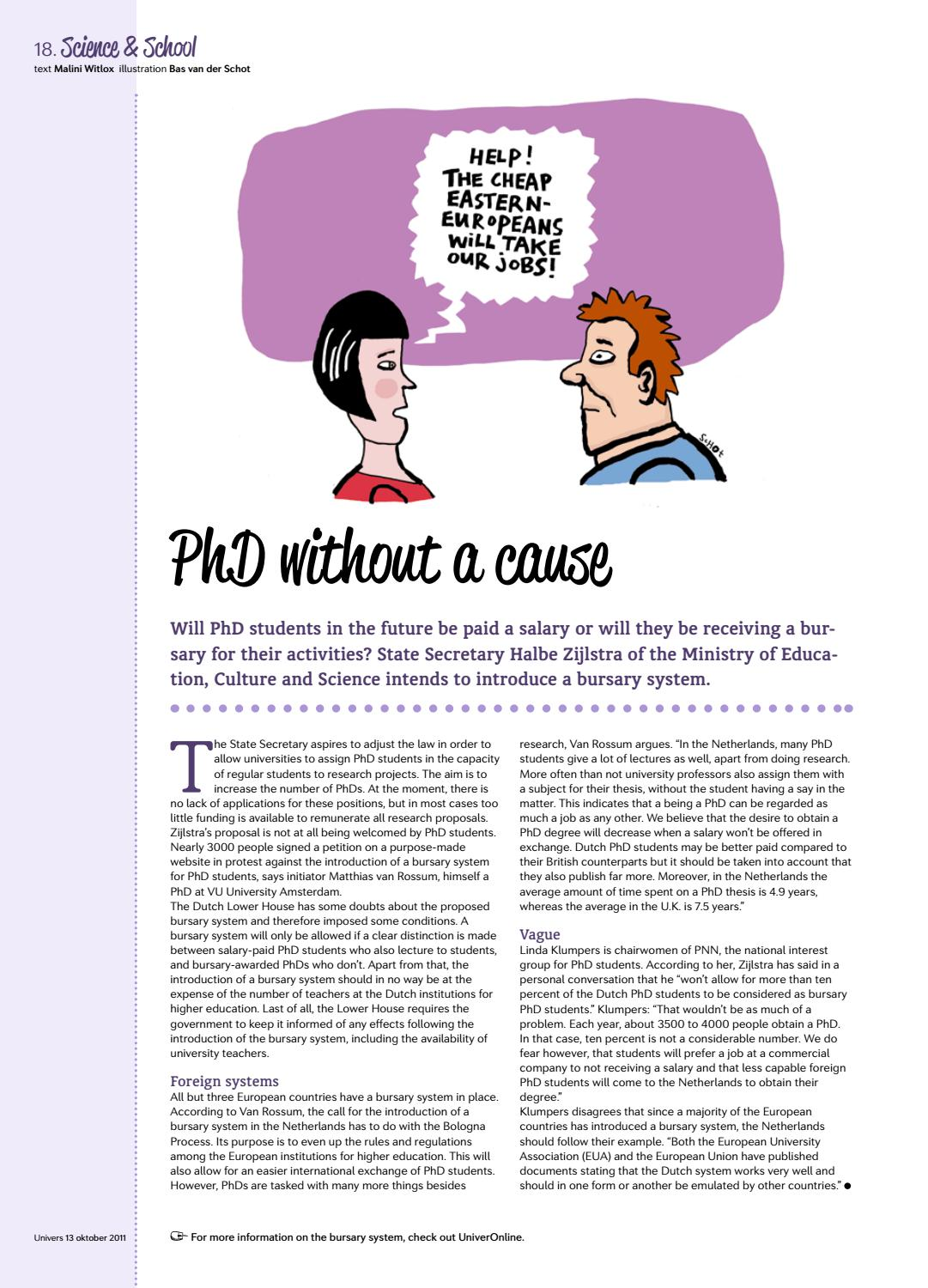 PhD without a cause