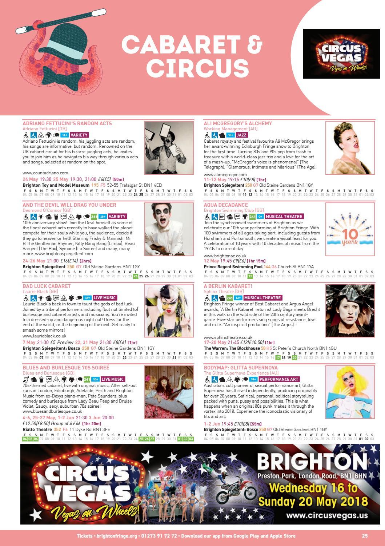 Brighton Fringe Brochure 2018 by Brighton Fringe - issuu