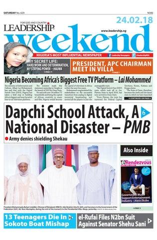 858b389f8133 LEADERSHIP E PAPER 24  2  2018 by Leadership Newspapers Nigeria - issuu