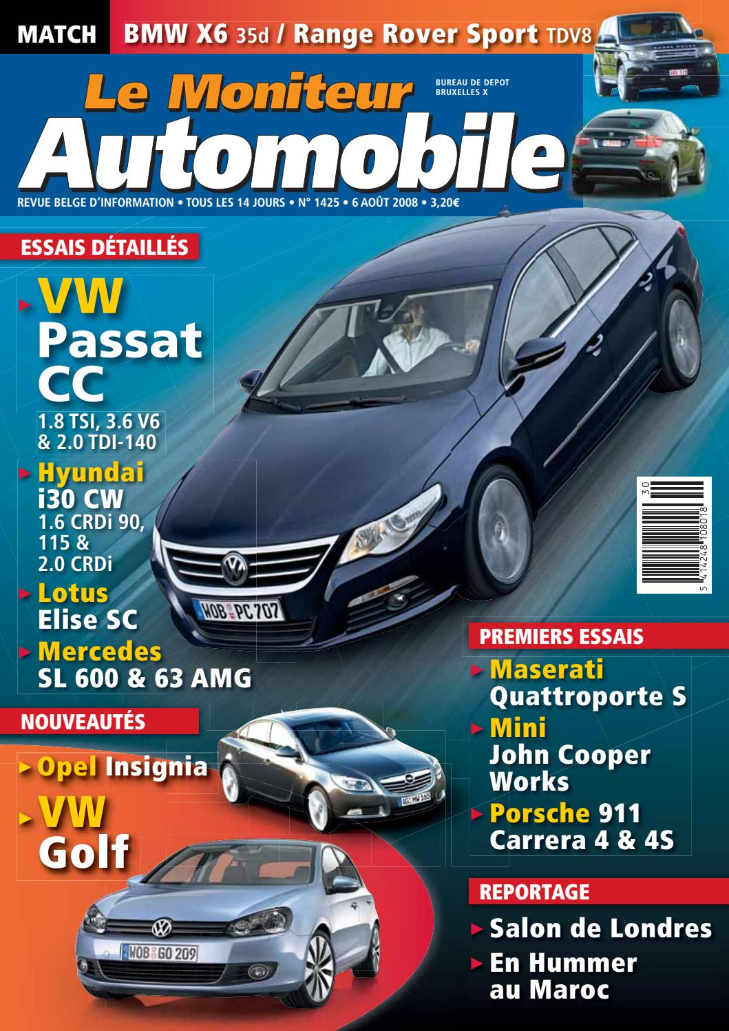 Moniteur Automobile 06082008 By Mustapha Mondeo Issuu