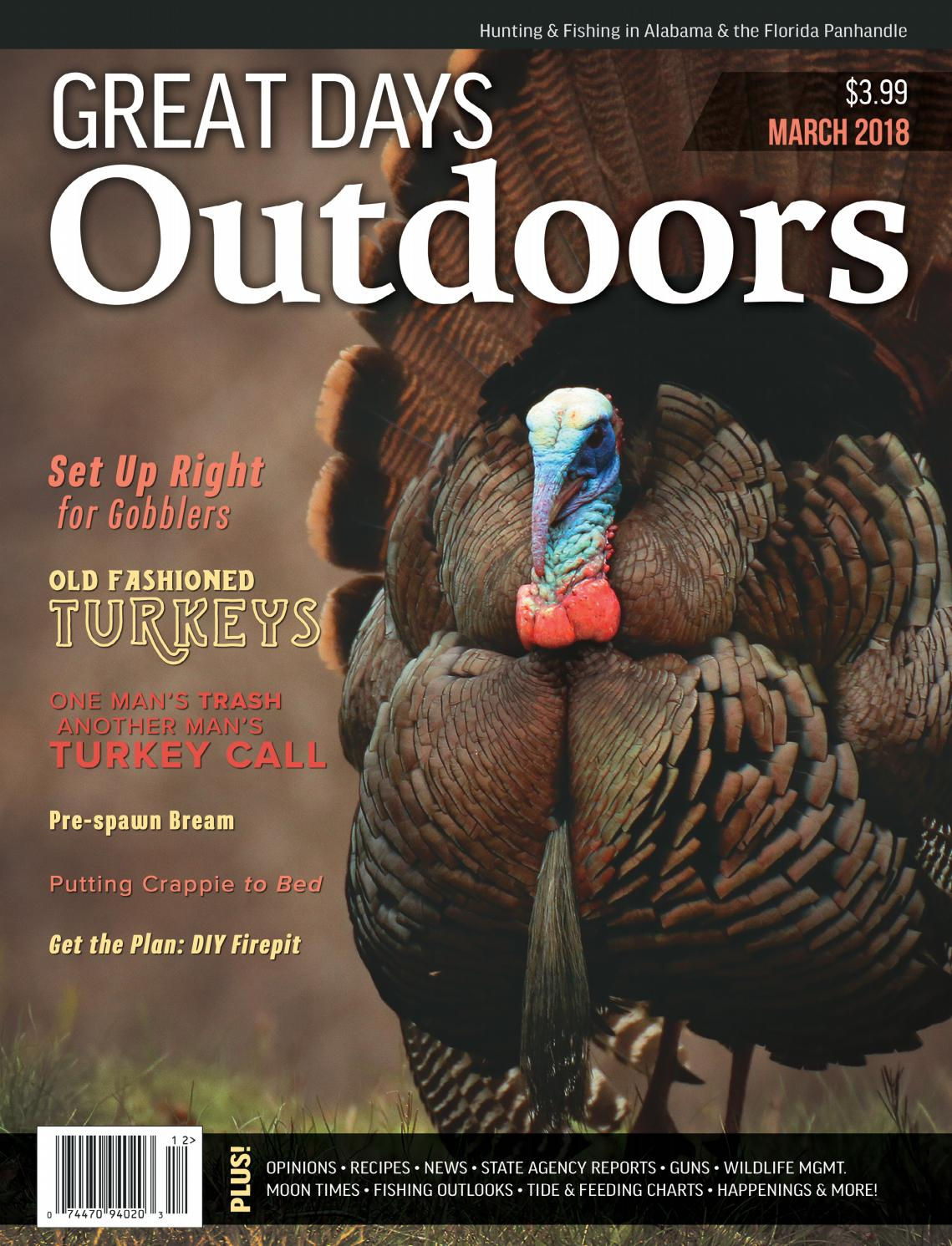 Happy Thanksgiving Yall Shell Bling >> Great Days Outdoors March 2018 By Trendsouth Media Issuu