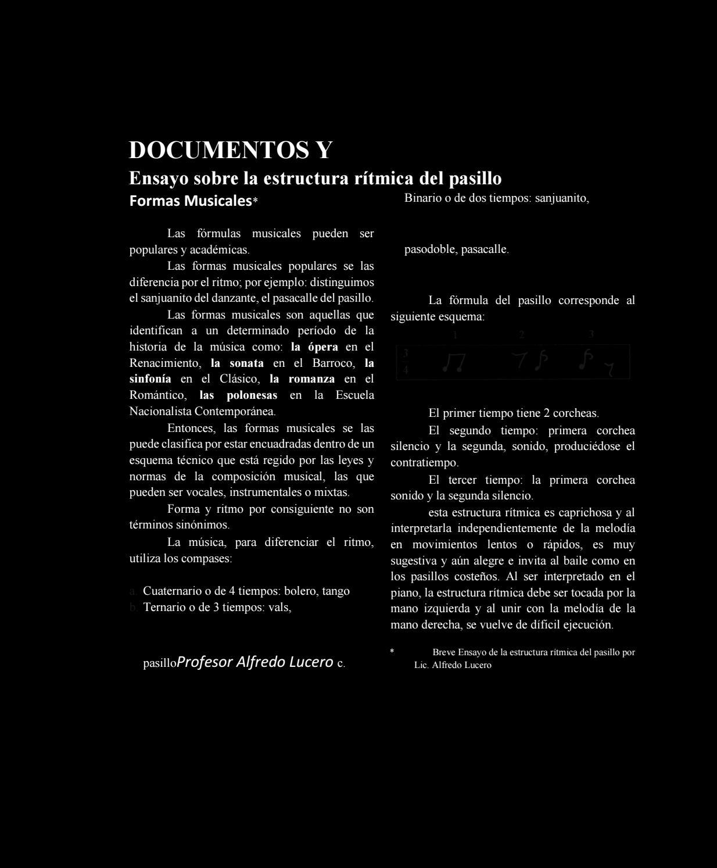 Libro De Pasillos By Pamelteca94 Issuu