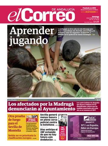 25.02.2018 El Correo de Andalucía by EL CORREO DE ANDALUCÍA S.L. - issuu 38da3fd5d9f26