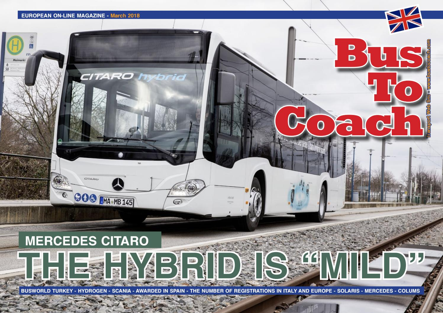 BUSTOCOACH EUROPEAN ON-LINE MAGAZINE – March 2018 by Transport Web ...