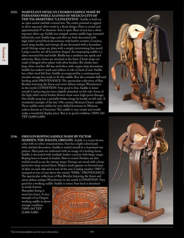 James D  Julia's Extraordinary Firearms Auction by James D