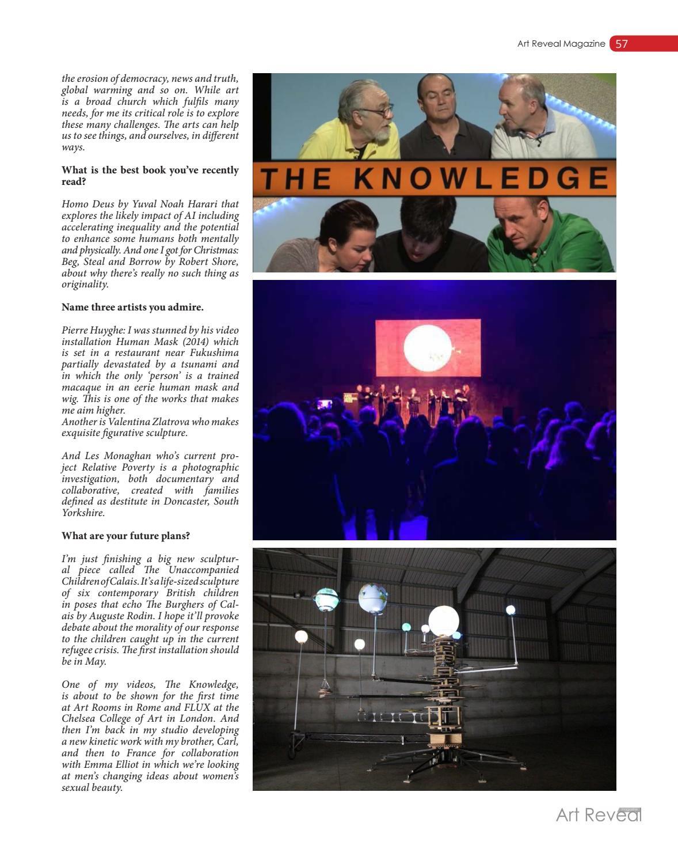 Art Reveal Magazine no  37 by Art Reveal Magazine - issuu