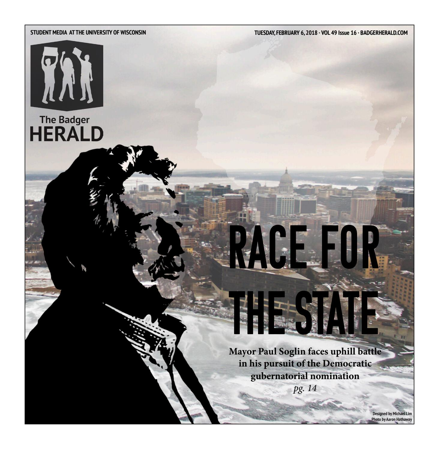 Quick Someone Give Paul Soglin Bag Of >> Race For The State Volume 49 Issue 16 By The Badger Herald Issuu