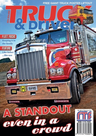 Nz Truck Driver March 2018 By Nz Truck Driver Issuu