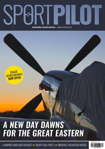 Sport pilot 79 mar 2018 by Recreational Aviation Australia