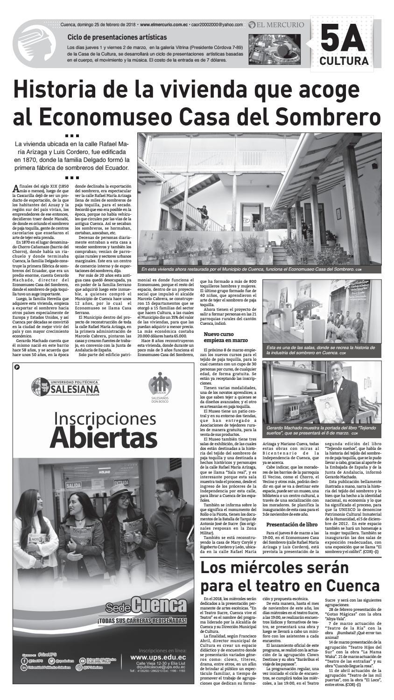 hemeroteca 25-02-2018 by Diario El Mercurio Cuenca - issuu 295c4fa28fb