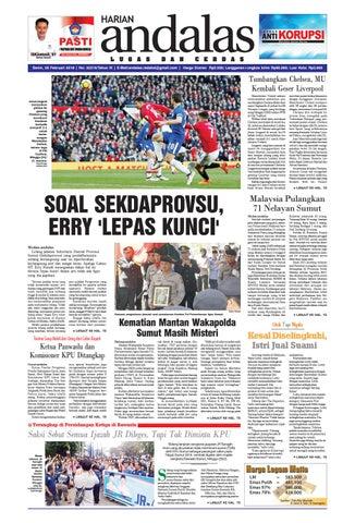 Epaper andalas edisi senin 26 februari 2018 by media andalas - issuu b21887fe98