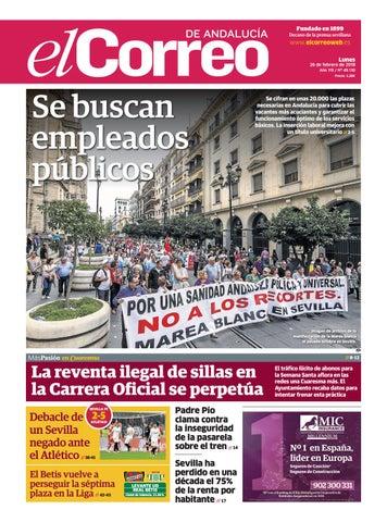 26.02.2018 El Correo de Andalucía by EL CORREO DE ANDALUCÍA S.L. - issuu 22362ccd08c