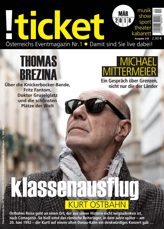 Ticket März 2018 By TICKET Das Eventmagazin Issuu