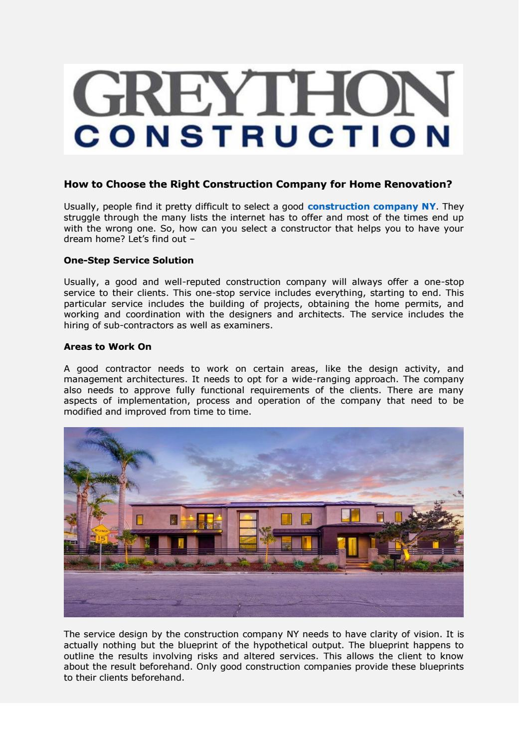 Construction company san diego ca by general contractor nyc issuu malvernweather Choice Image