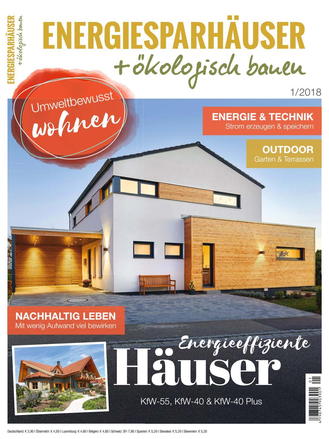 Energiesparhäuser + ökologisch bauen 1/2018 by Family Home Verlag ...
