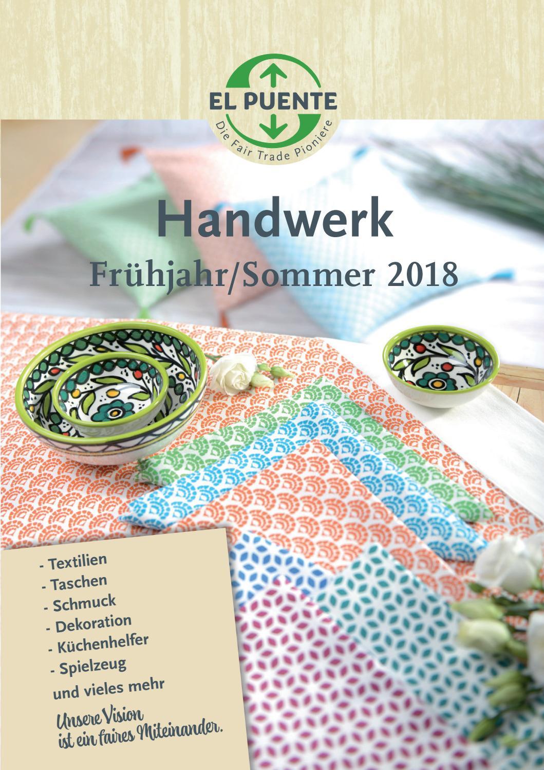 El Puente Katalog Handwerk Frühjahr/Sommer 2018 by EL PUENTE - issuu