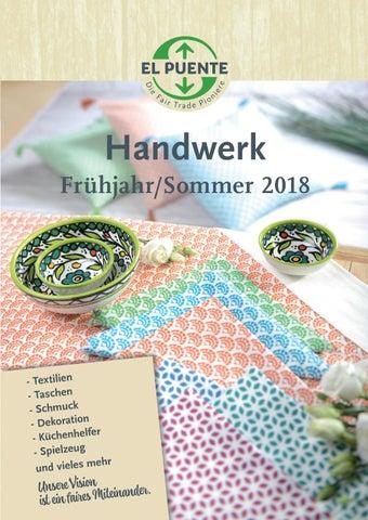 2c0348fa7cf42 El Puente Katalog Handwerk Frühjahr Sommer 2018 by EL PUENTE - issuu