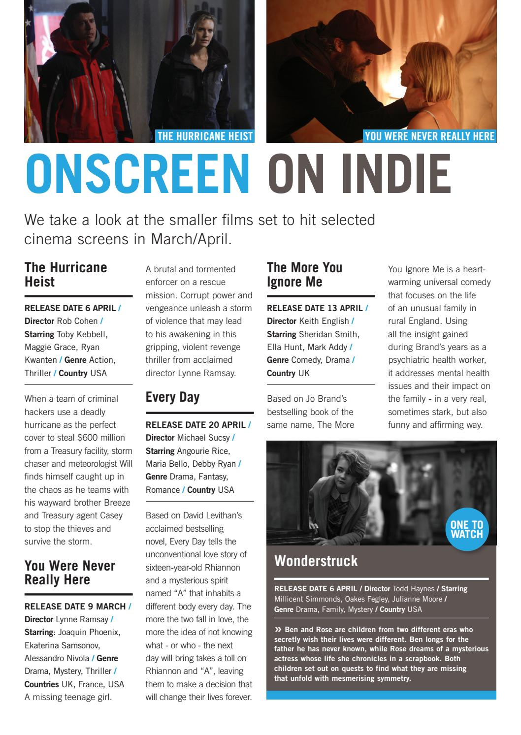 ONSCREEN Magazine March/April 2018 by ONSCREEN Magazine - issuu