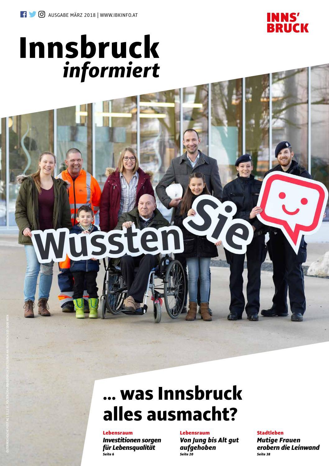 Innsbruck informiert (März 2018) by Innsbruck informiert - issuu