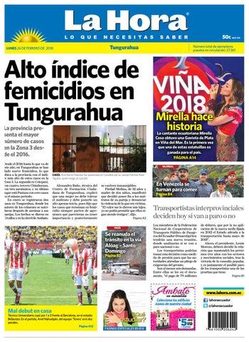 443941404d Ambato 26 de febrero del 2018 by Diario La Hora Ecuador - issuu