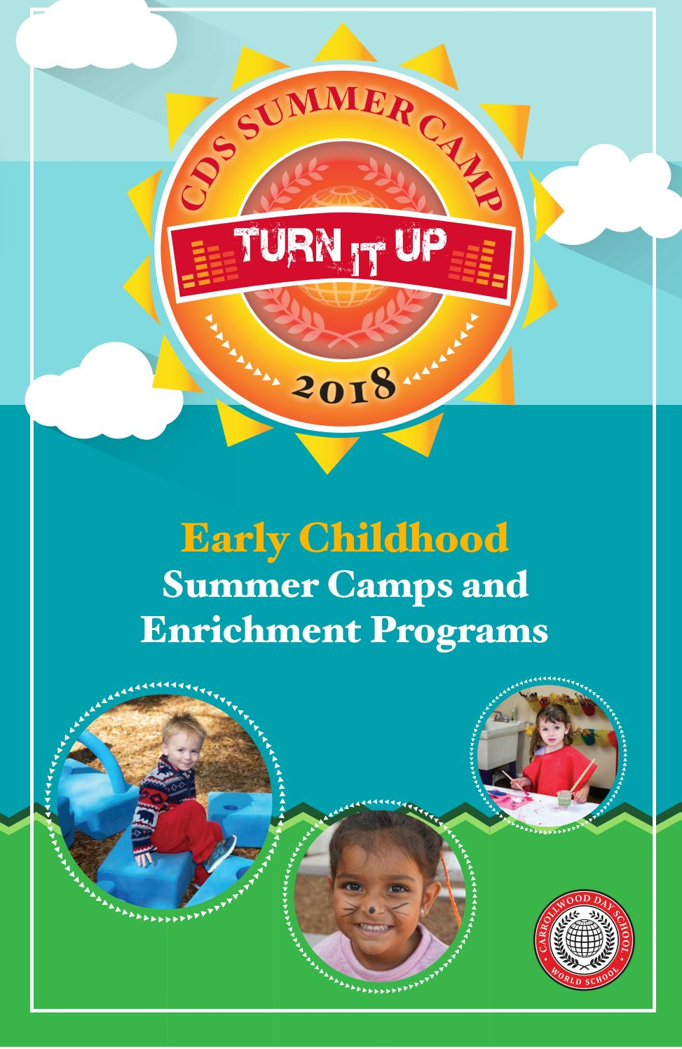 early childhood summer camps 2018 by carrollwood day school