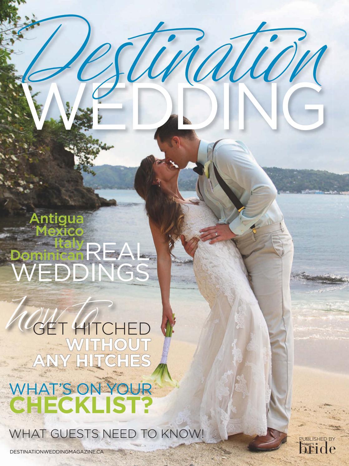 Destination Wedding Magazine Fall Winter 2016 By Annex Business