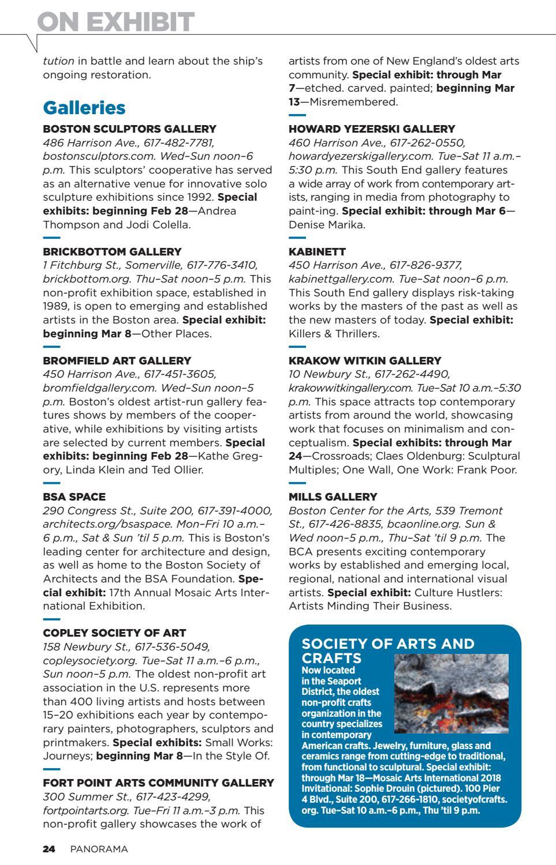 Panorama Magazine: February 26, 2018 Issue by New Venture