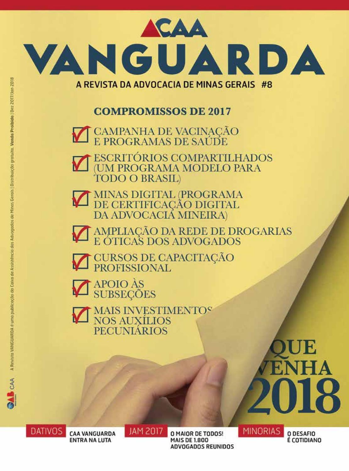 Revista Vanguarda - A revista da advocacia de Minas Gerais by CAA MG - issuu 4135a8c68b