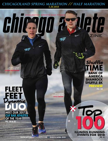 ac0ac40b0 2018 March April Chicago Athlete Magazine by Kelli L - issuu