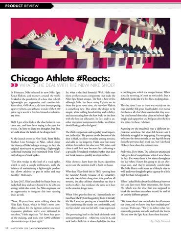 1edf6d29a61 2018 March April Chicago Athlete Magazine by Kelli L - issuu