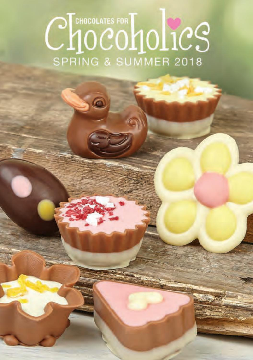 Chocoholics Spring And Summer 2018 By Chocolates For