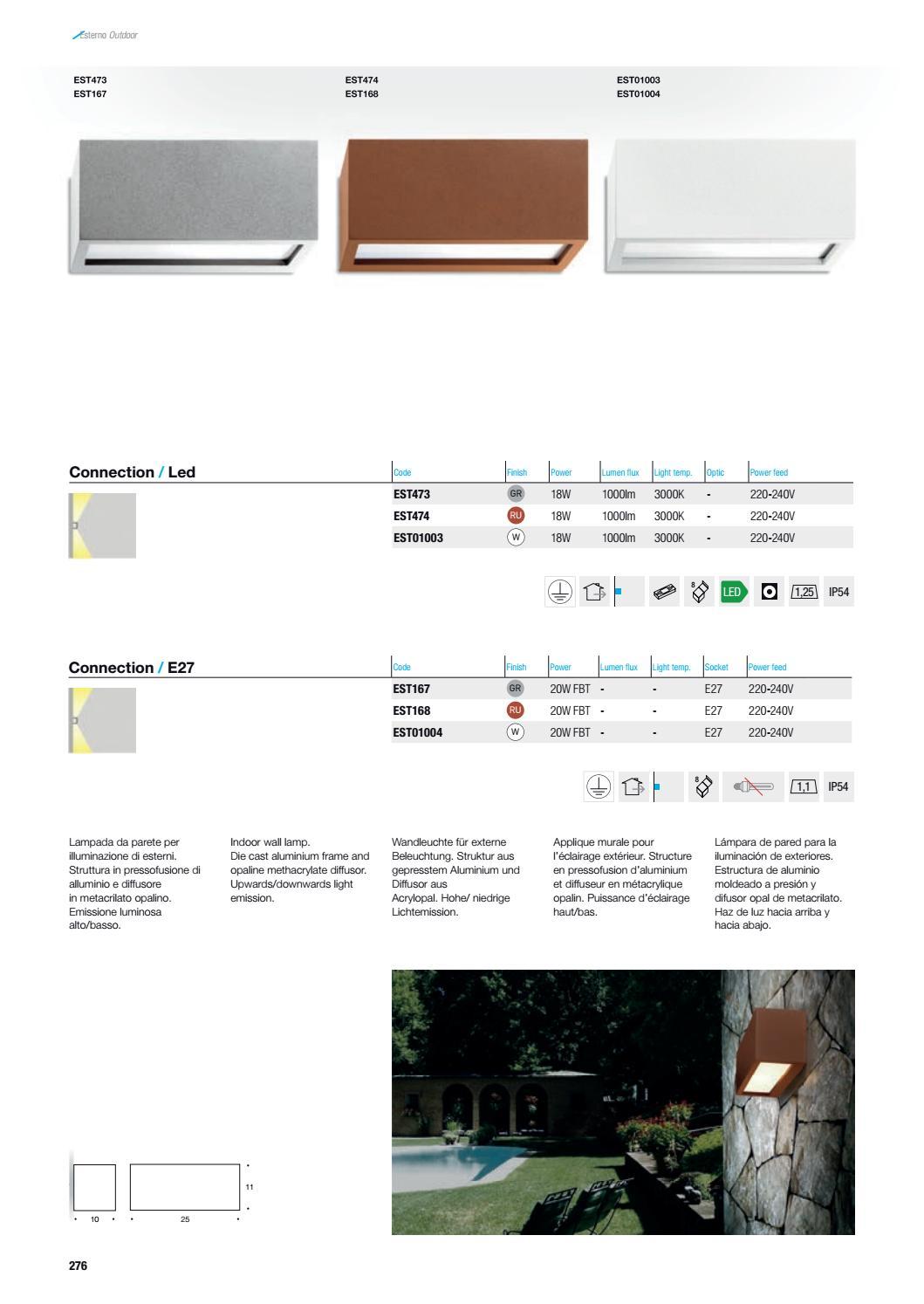 Applique Extérieure Eclairage Haut Et Bas altatensione cat 2016larsa lighting - issuu