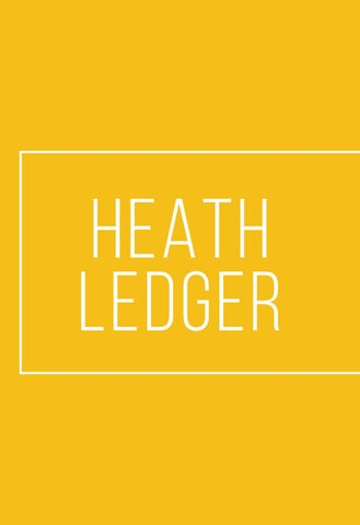 "Page 78 of especial: ""HEATH LEDGER"""