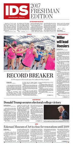 2017 Freshman Edition by Indiana Daily Student - specials