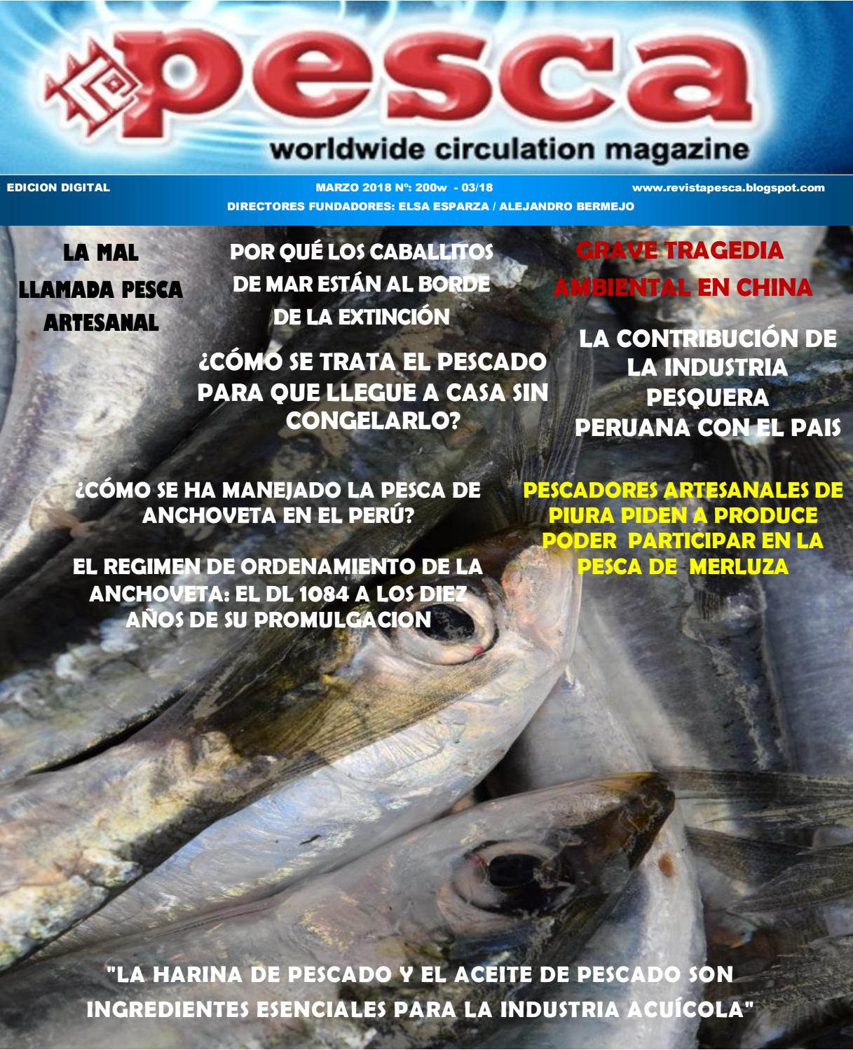 Revista Pesca marzo 2018 by Marcos Kisner - issuu