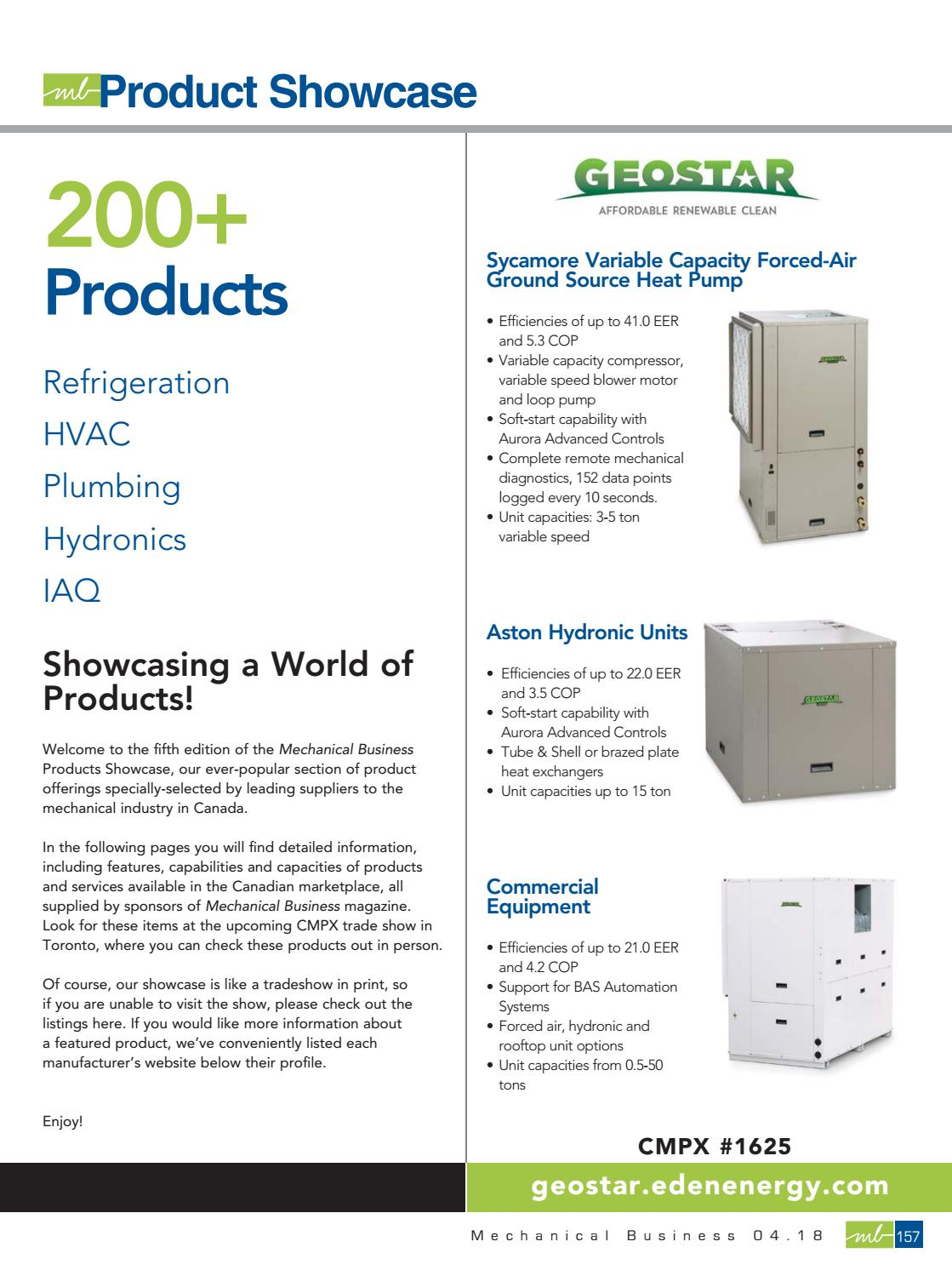 2018 Cmpx Product Showcase By Mechanical Business Issuu Honeywell Smart Vfd Compact