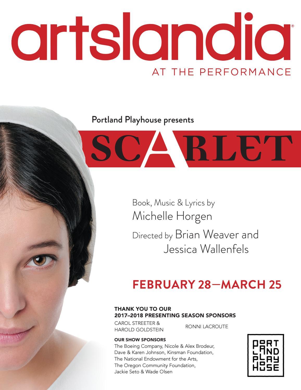 Scarlet - Portland Playhouse by Artslandia - issuu