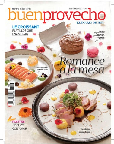 Buen Provecho Febrero 2018 By Grupo Editorial Altamirano Issuu