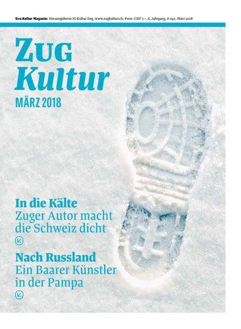Zug Kultur Magazin – März 2018 (#47) by Zug Kultur - issuu